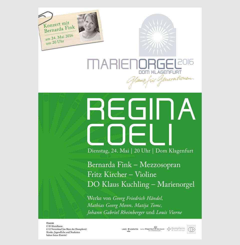 Marienorgel-Konzertreihe – Plakate (Beispiel)