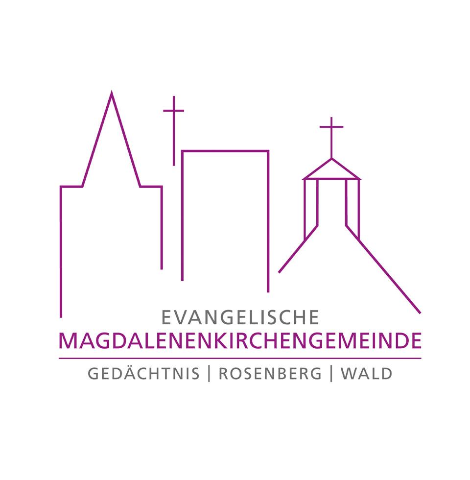Logo Magdalenenkirchengemeinde: Drei Kirchengemeinden fusionierten zu einer