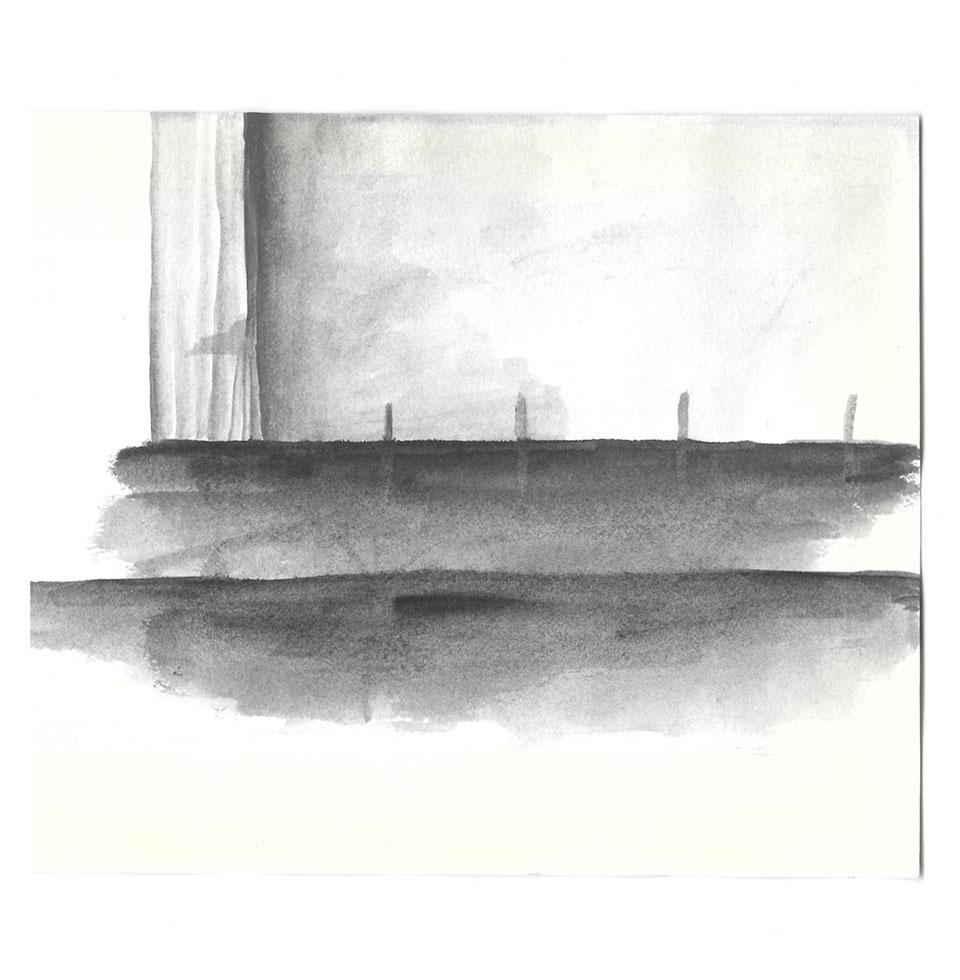 Anne Hooss – Sketchbook | City scene
