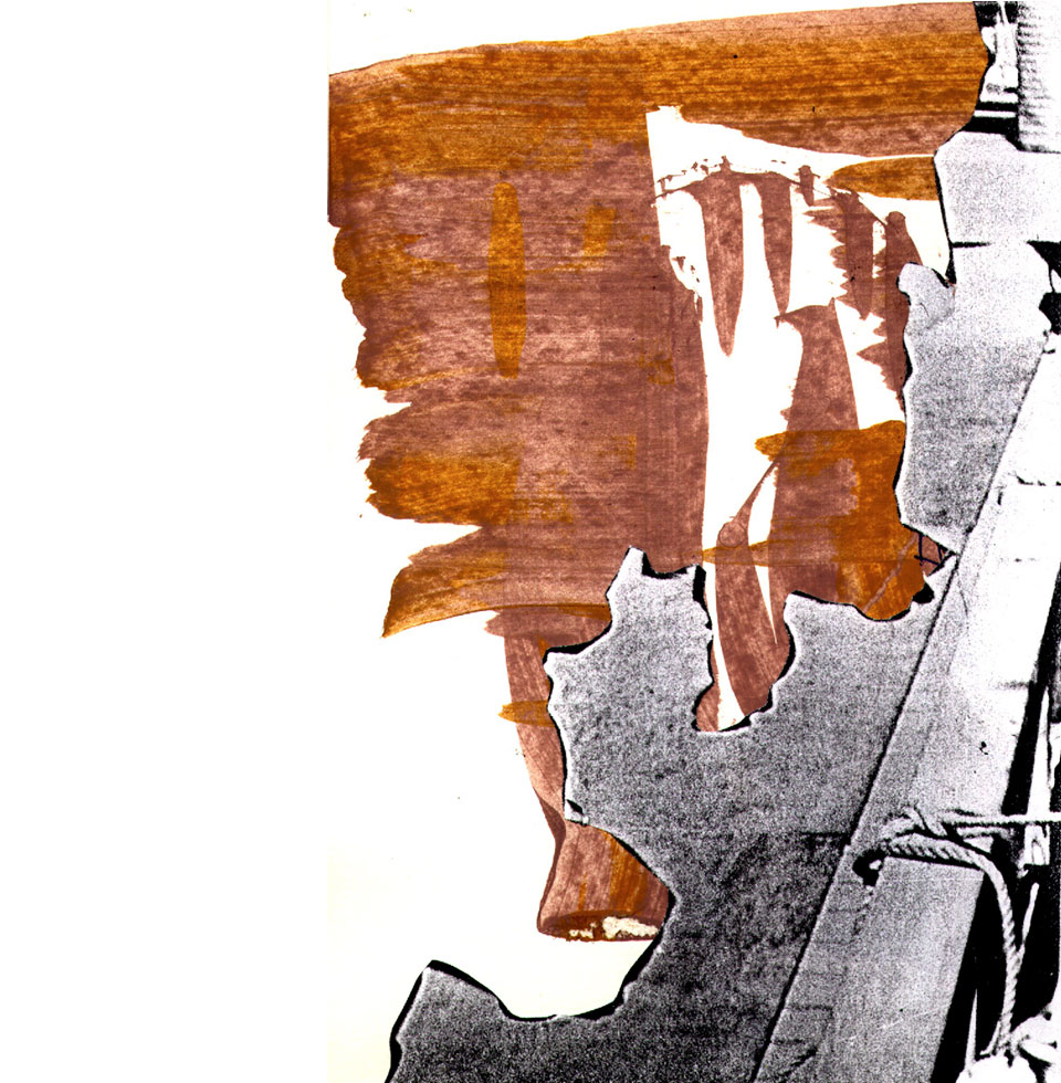 Anne Hooss – Sketchbook | Harbour collage