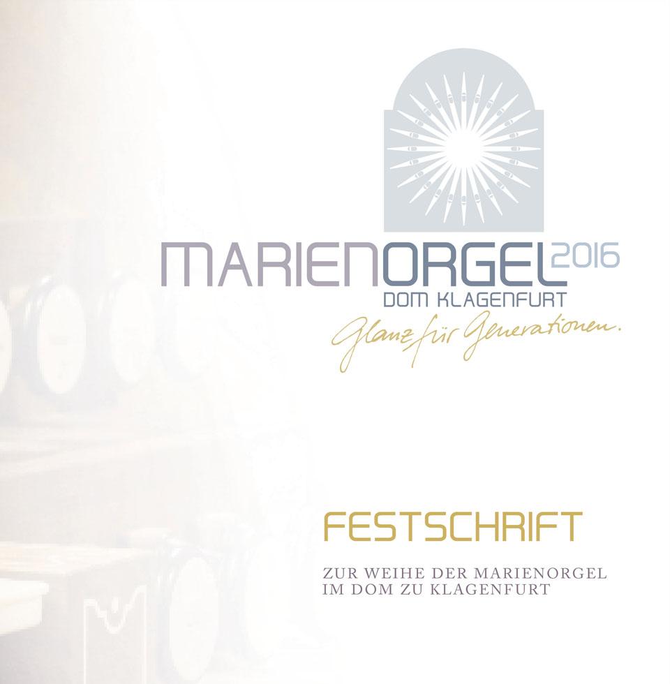Festschrift / Programm zur Orgelweihe