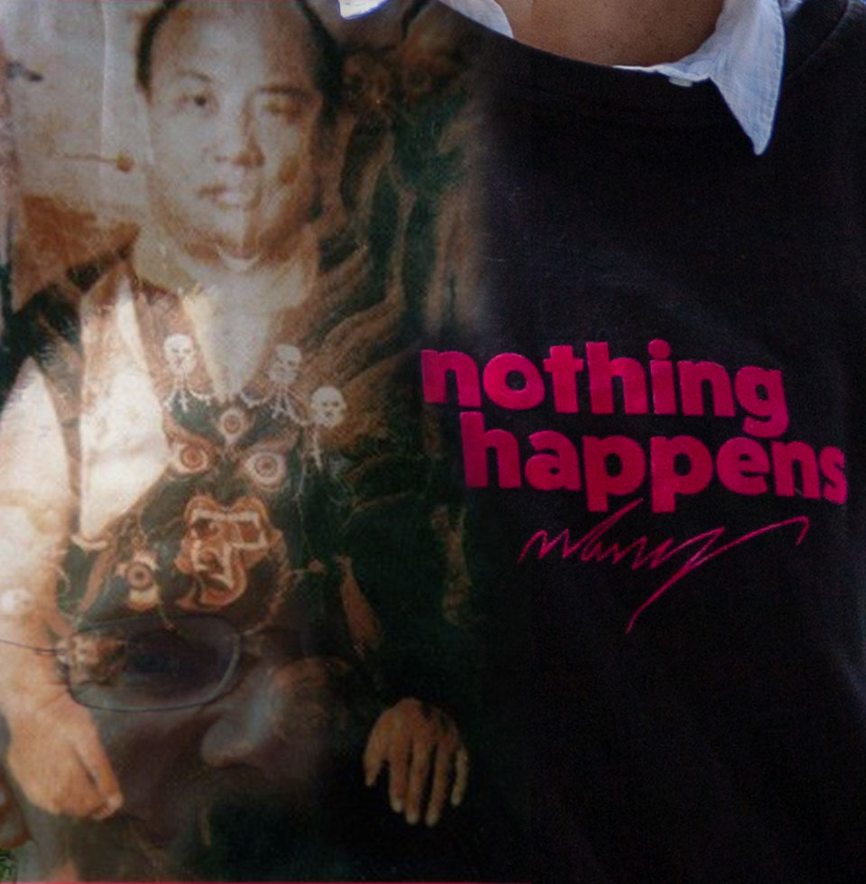 Anne Hooss – nothing happens | Sweatshirt