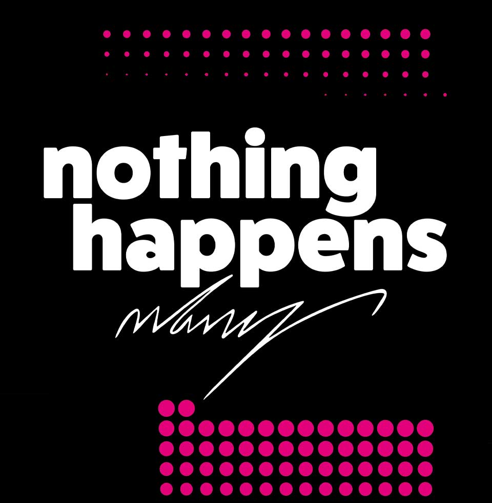 Anne Hooss – nothing happensAnne Hooss – nothing happens | briefcase / pouch